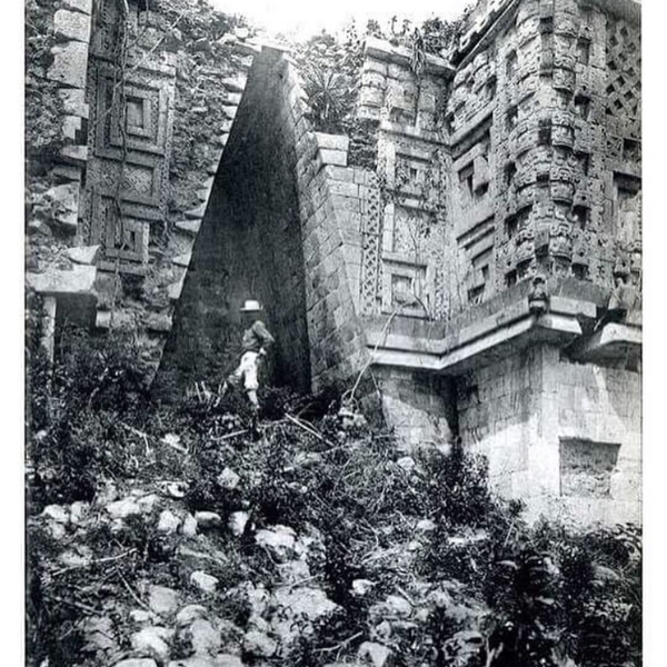 Uxmal: Sealed Portal Vault in the House of Governor at Uxmal  Spinden, Herbert Joseph, 1879-1967. New York