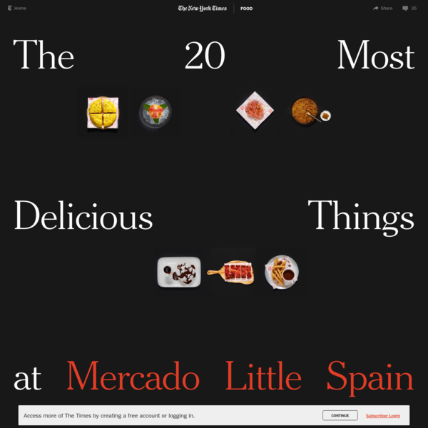 The 20 Most Delicious Things at Mercado Little Spain