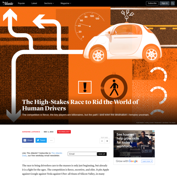 The High-Stakes Race to Rid the World of Human Drivers
