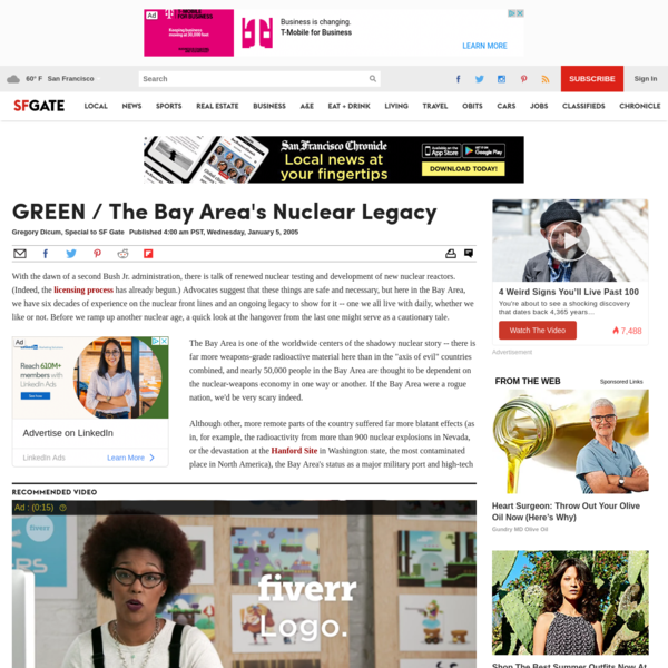 GREEN / The Bay Area's Nuclear Legacy