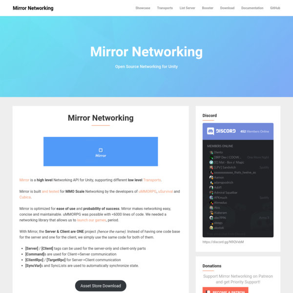 Mirror Networking