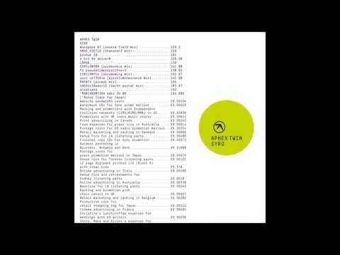 Aphex Twin - end E2