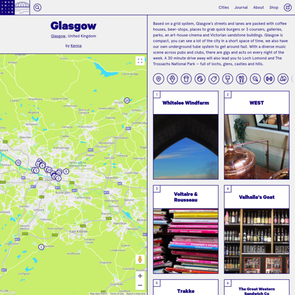On the Grid : Glasgow