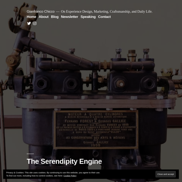 The Serendipity Engine