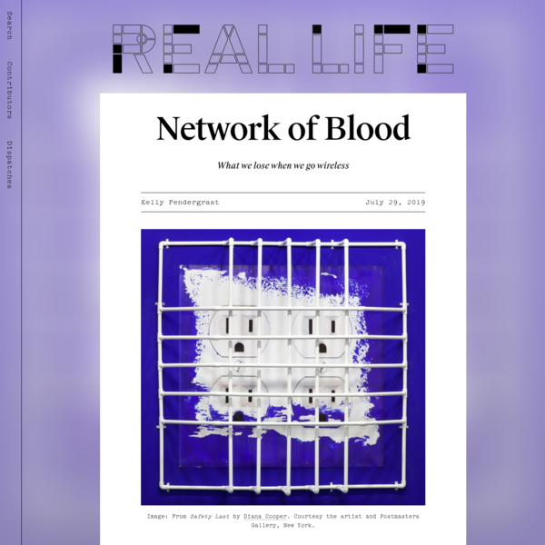 Network of Blood - Real Life