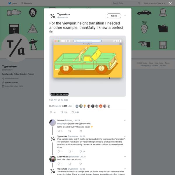 Typearture on Twitter