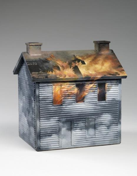 Vija Celmins, House #2, 1965