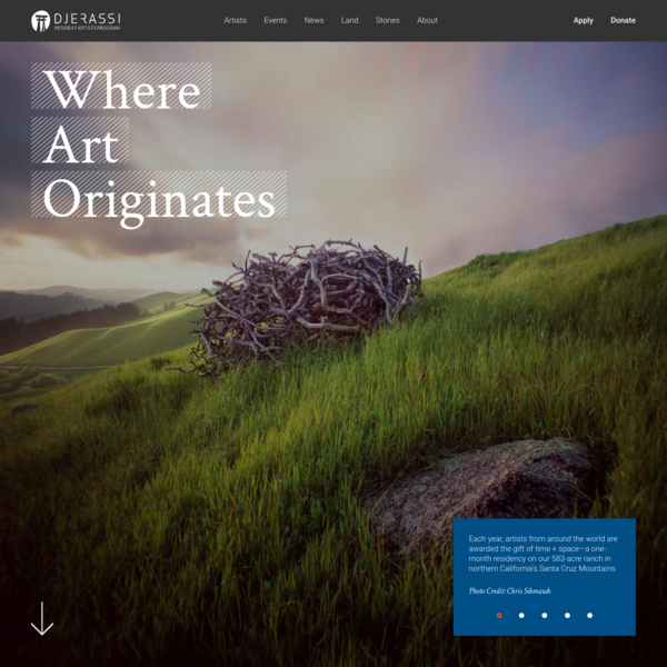 Home - Djerassi Resident Artists Program