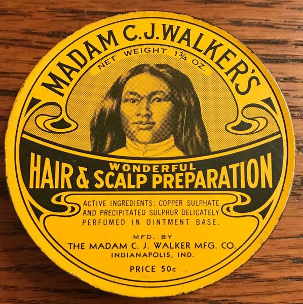 Madam C.J. Walker's Wonderful Hair & Scalp Preparation