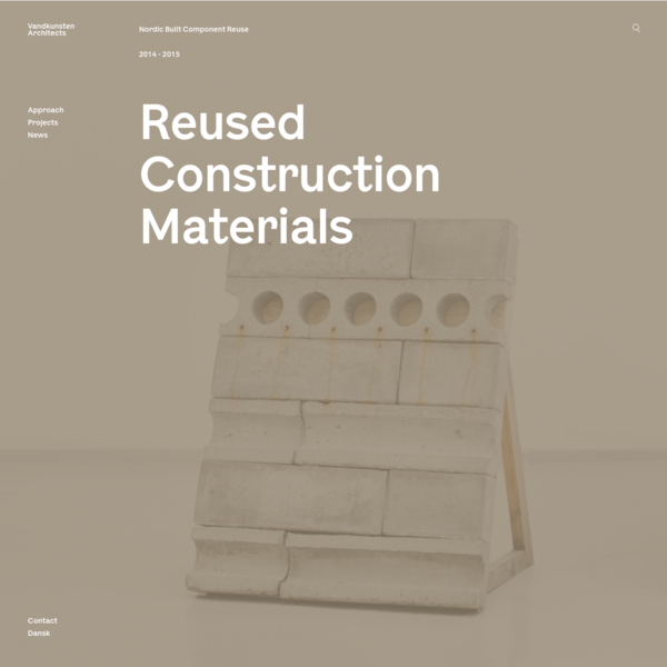 Reused Construction Materials