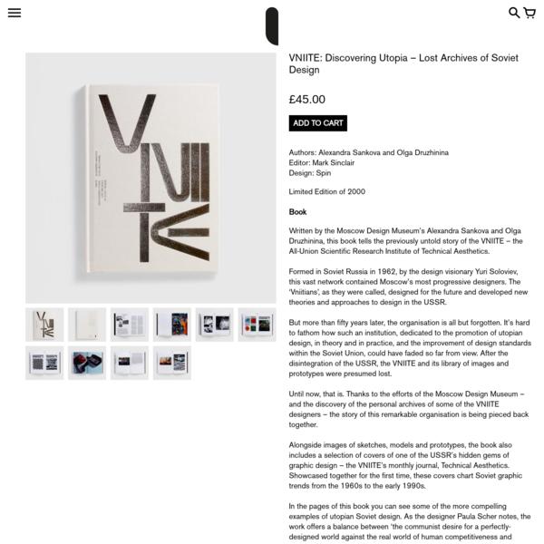 VNIITE: Discovering Utopia - Lost Archives of Soviet Design