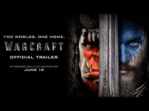 Warcraft - Official Trailer In Theaters, June 10, 2016 www.warcraftmovie.com From Legendary Pictures and Universal Pictures comes Warcraft, an epic adventure of world-colliding conflict based on Blizzard Entertainment's global phenomenon. The peaceful realm of Azeroth stands on the brink of war as its civilization faces a fearsome race of invaders: Orc warriors fleeing their dying home to colonize another.
