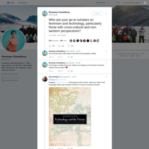 Rumman Chowdhury on Twitter