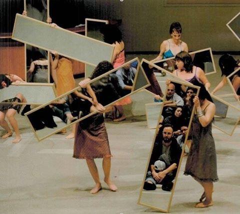 Mirror Piece by Joan Jonas (1969); reconfigured at the Guggenheim Museum (2010)