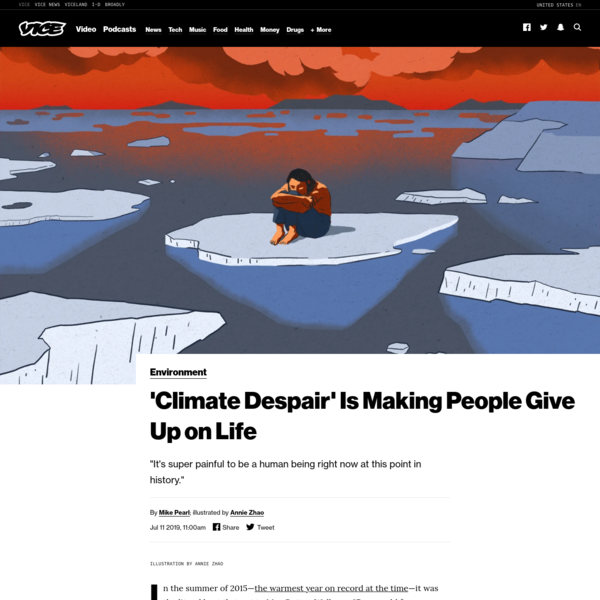 'Climate Despair' Is Making People Give Up on Life