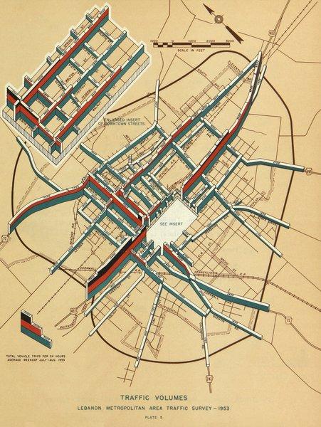 Traffic Studies, Bureau of Public Roads, Pennsylvania