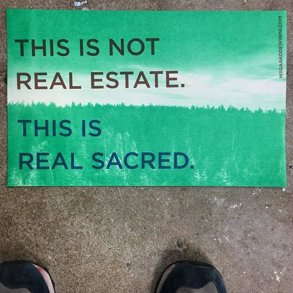 Dylan Miner, This is not real estate. This is real sacred.