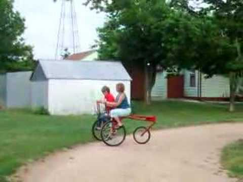 Two Person Side by Side Bicycle