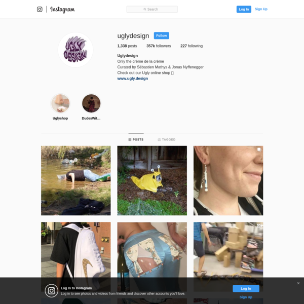 Uglydesign (@uglydesign) * Instagram photos and videos