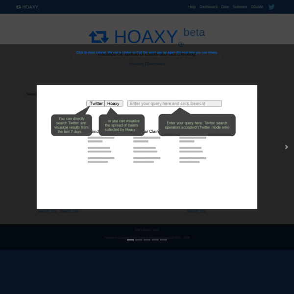 Hoaxy: How claims spread online