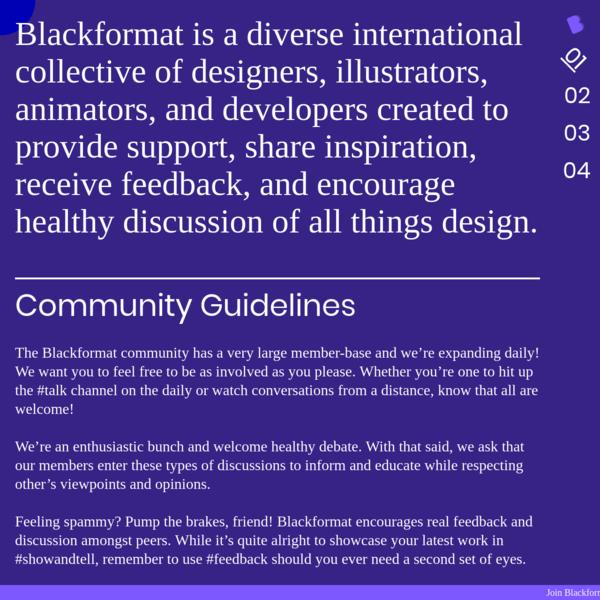 Blackformat