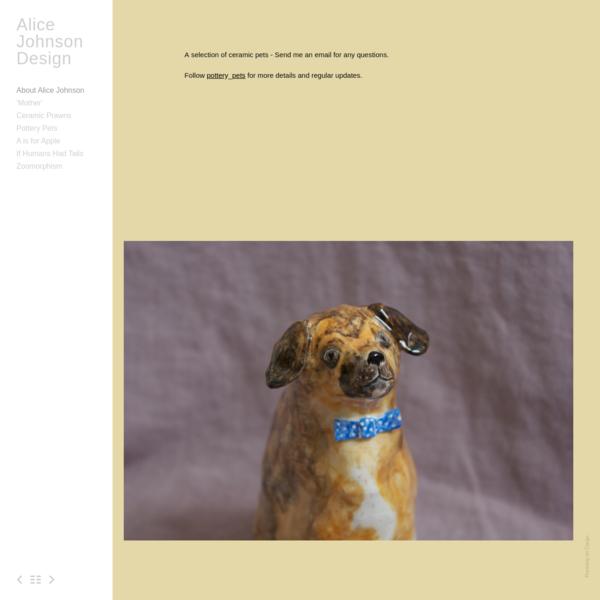 Pottery Pets - Alice Johnson