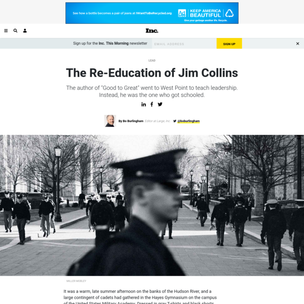 The Re-Education of Jim Collins