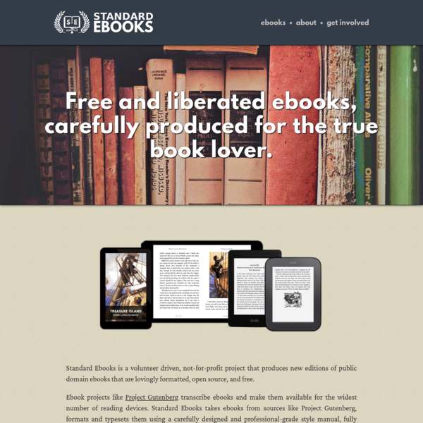 Free and liberated ebooks,carefully produced for the true book lover.