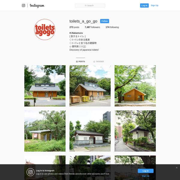 H.Nakamura (@toilets_a_go_go) * Instagram photos and videos