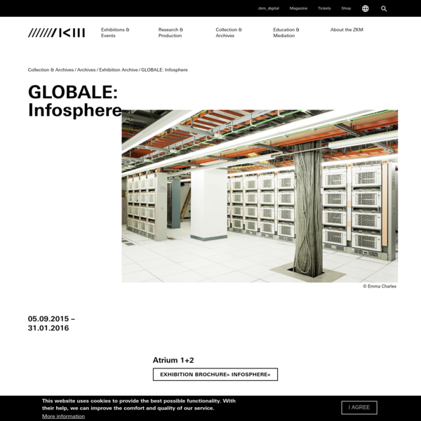 GLOBALE: Infosphere | 05.09.2015 (All day) to 31.01.2016 (All day) | ZKM