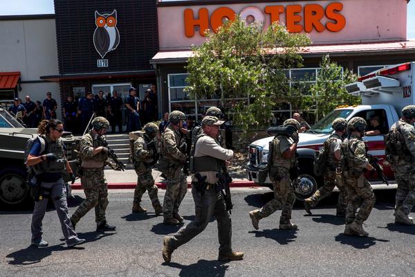 El Paso, Tx, Walmart mass shooting - Aug 3 2019