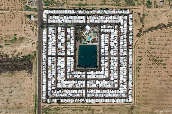 Scottsdale, Arizona (Google Earth View 1806)