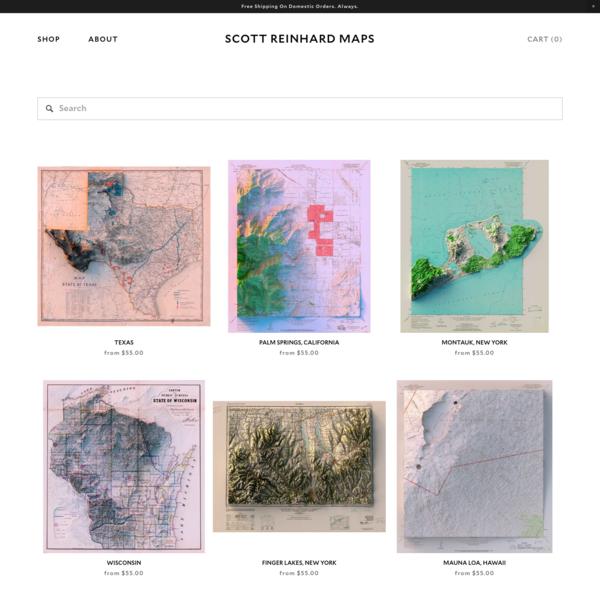Shop — Scott Reinhard Maps