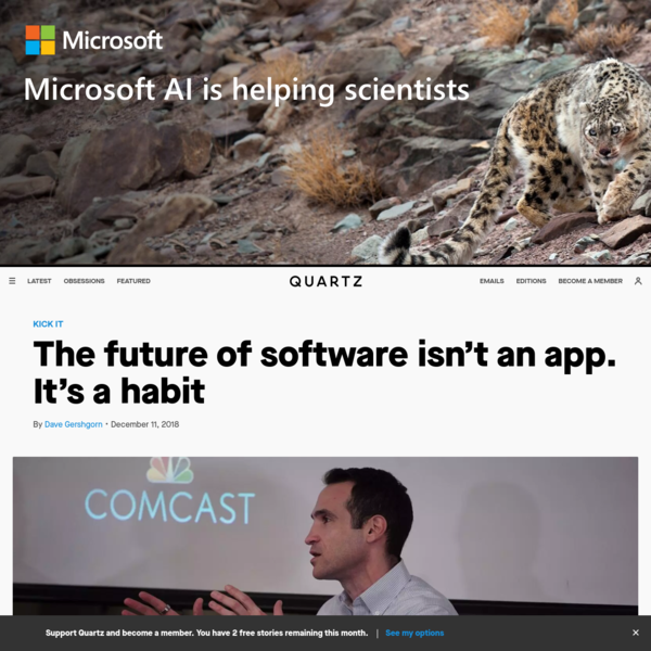 The future of software isn't an app. It's a habit