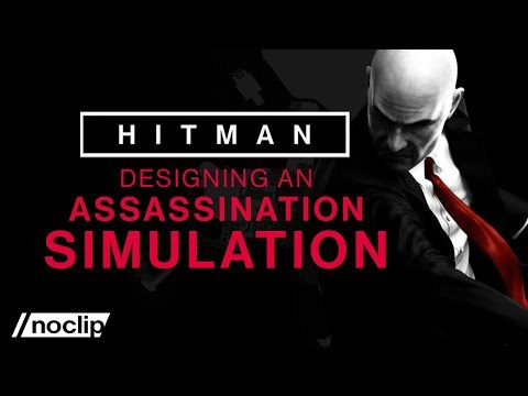 How the Simulation of a Hitman Level Works