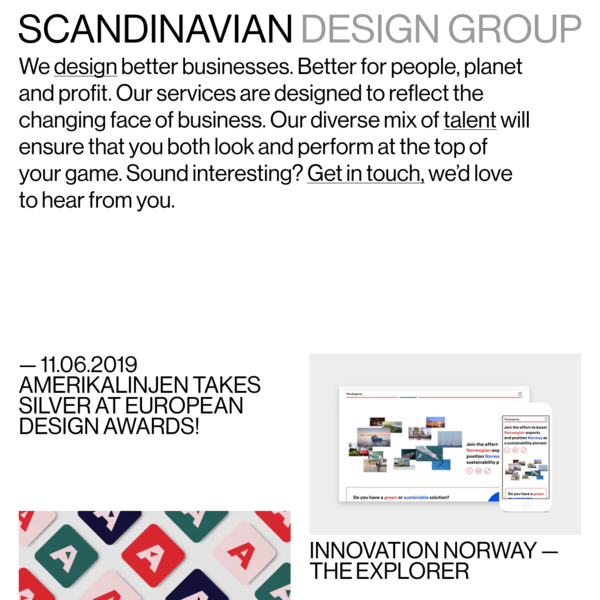SDG | Scandinavian Design Group