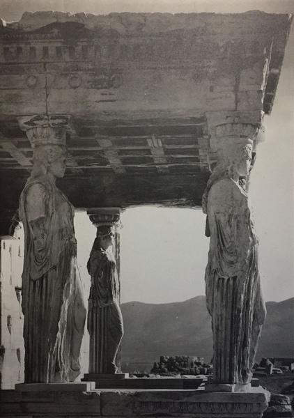 L'Acropole - Cariatides de l'Érechthéion