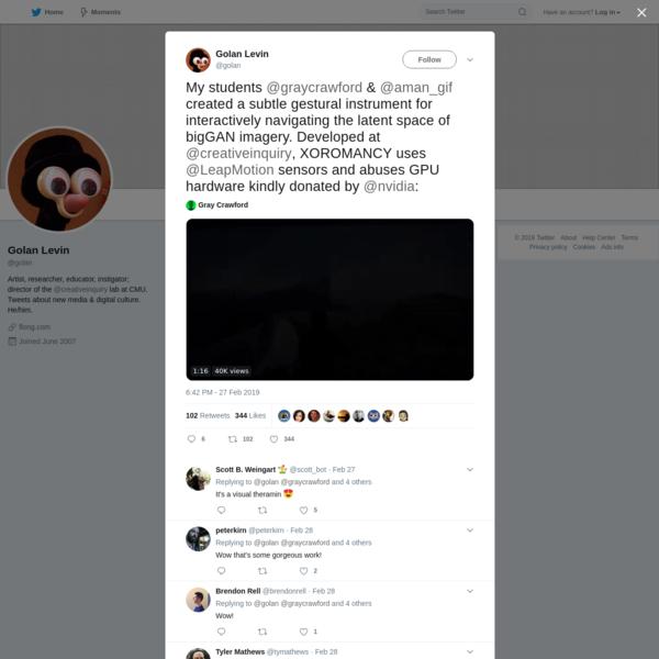 Golan Levin on Twitter