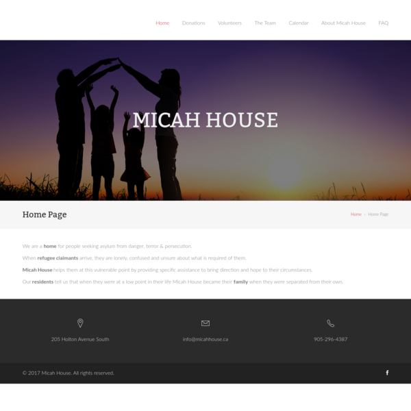Micah House | A ministry to newly arrived refugee claimants in Hamilton.