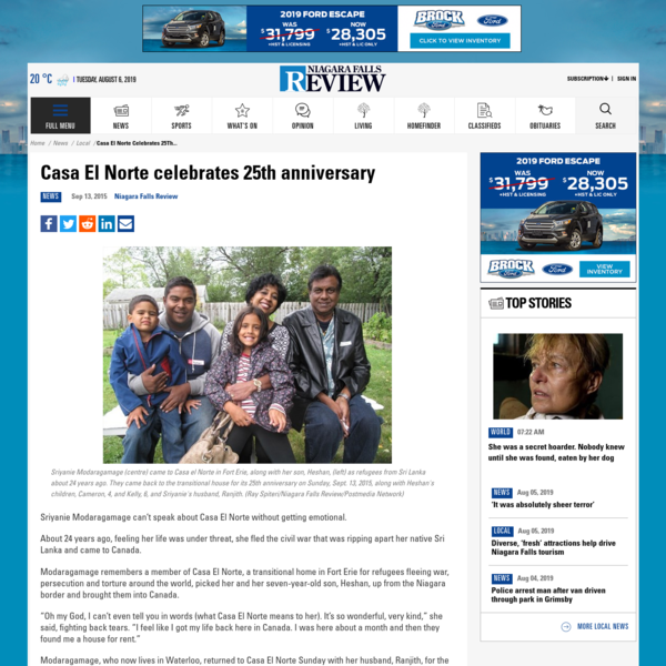 Casa El Norte celebrates 25th anniversary