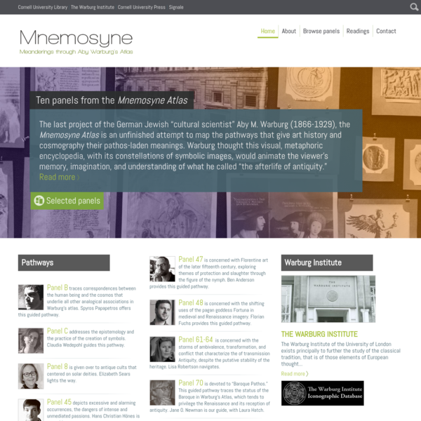 Home Page   Mnemosyne