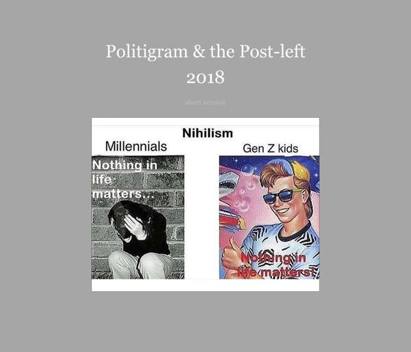 Politigram & the Post-left