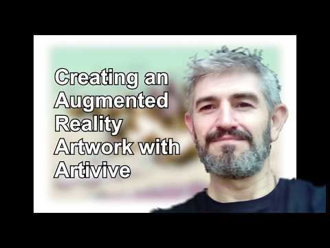 Creating an Augmented Reality Artwork with Artivive