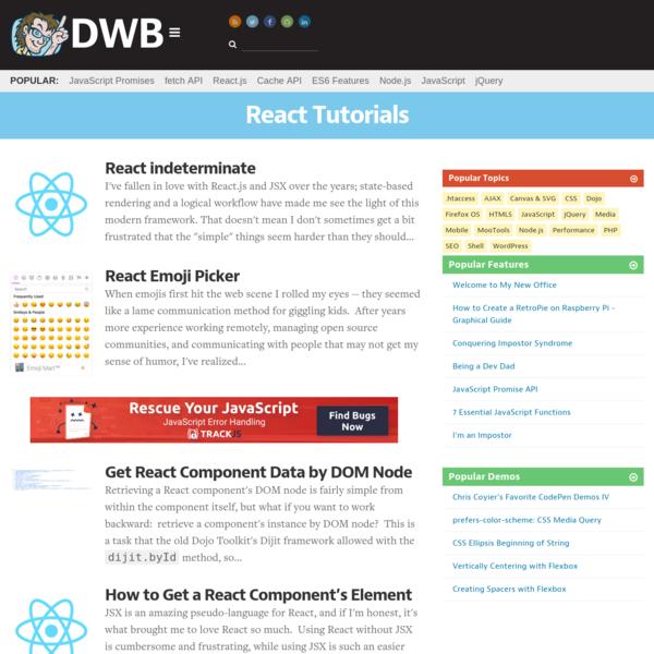 React Archives - David Walsh Blog
