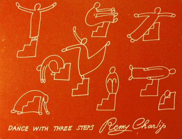 Remy Charlip, Dance With Three Steps