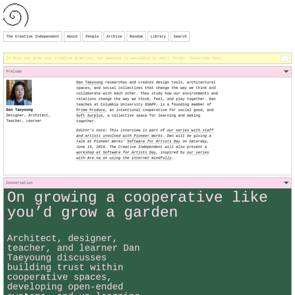 On growing a cooperative like you'd grow a garden