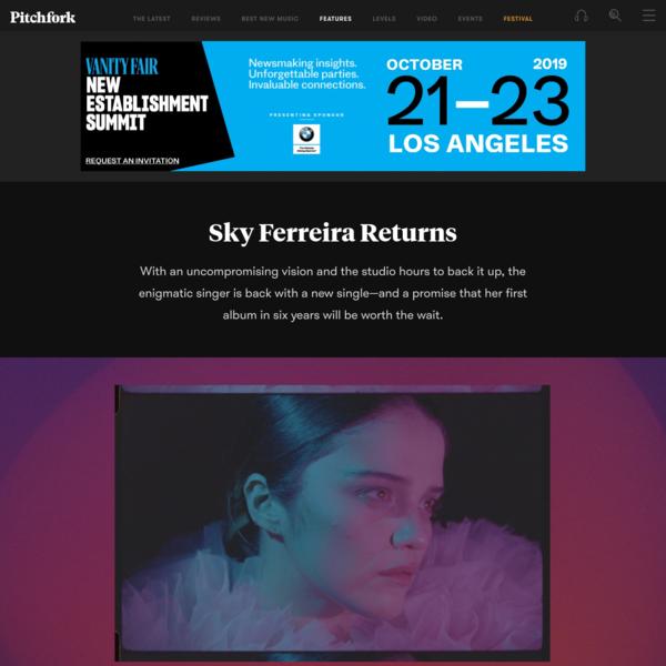 Sky Ferreira Returns