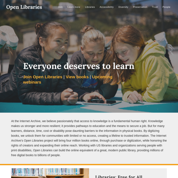 Open Libraries