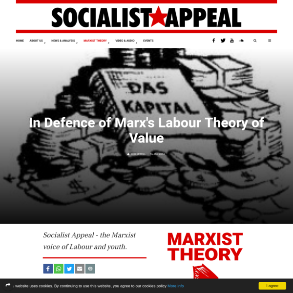 In Defence of Marx's Labour Theory of Value