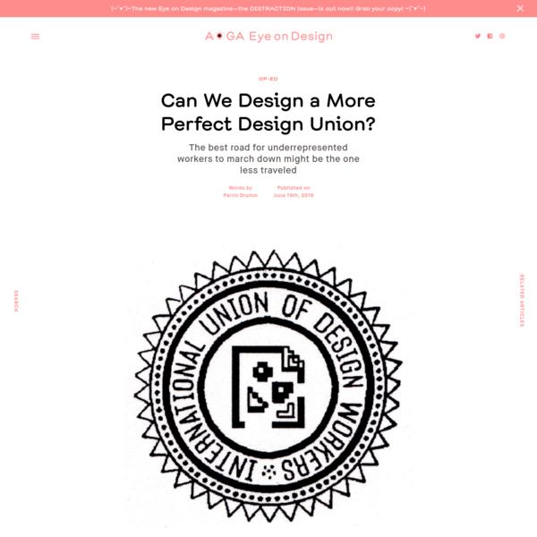 Can We Design a More Perfect Design Union?